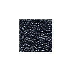 MH Glass Seed Beads 00081 - black/grey