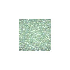 MH Glass Seed Beads 02016 - crystal mint