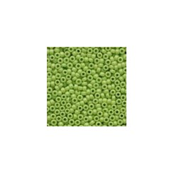 MH Glass Seed Beads 02066 - crayon yellow green
