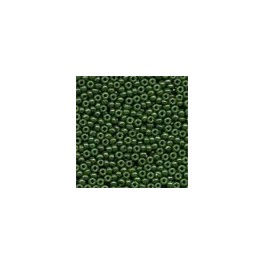 MH Glass Seed Beads 02094 - opaque moss
