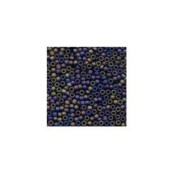 MH Antique Glass Seed Beads 03013 - stormy blue heather
