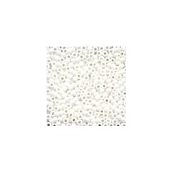 MH Antique Glass Seed Beads 03015 - snow white