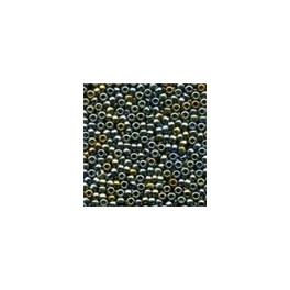 MH Antique Glass Seed Beads 03037 - abalone higher