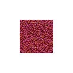 MH Antique Glass Seed Beads 03058 - mardi gras red