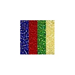 MH Glass Seed Beads 01001 - Mini Packs No. 1