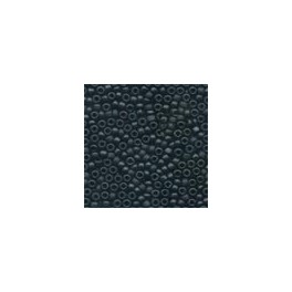 MH Frosted Glass Seed Beads 62014 - black