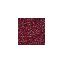MH Frosted Glass Seed Beads 62032 - cranberry