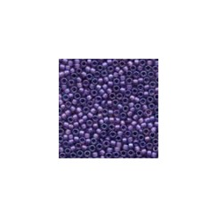 MH Frosted Glass Seed Beads 62042 - royal purple