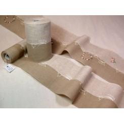 "Leinenband ""Tulipa"" - 20 cm breit"