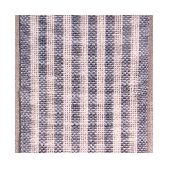 Leinenband mit dünnen Streifen, hellblau/weiß - 5,5 cm breit