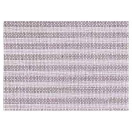 Leinenband mit dünnen Streifen, weiß/natur - 40 cm breit
