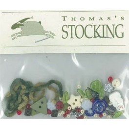 THOMAS'S STOCKING - Materialpaket
