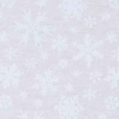 Dekostoff EISKRISTALLE natur - 180 cm breit