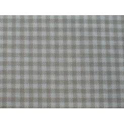 Dekostoff LILLE natur/beige kariert - 180 cm breit