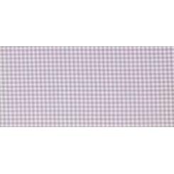 Dekostoff LILLE lila/weiß kariert - 180 cm breit