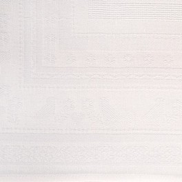 Decke weiß - 92 x 92 cm