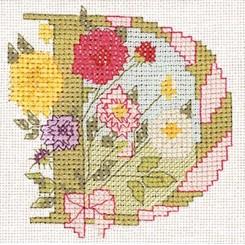 Blumenalphabet Buchstabe D