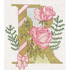 Blumenalphabet Buchstabe R