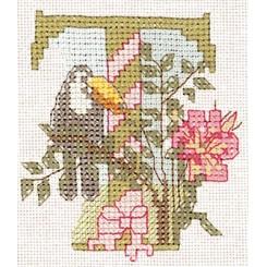 Blumenalphabet Buchstabe T