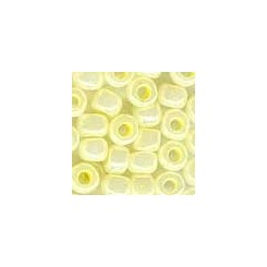 MH Glass Pebble Beads 05002 - yellow creme