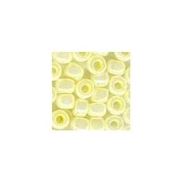 MH Glass Pebble Beads 05002 - yellow creme