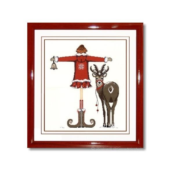 lulu belle zu weihnachten 2010 rot stickpackung. Black Bedroom Furniture Sets. Home Design Ideas