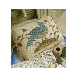 BIRD 'N BLOSSOMS PIN CUSHION