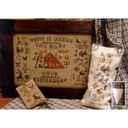 HOME IS WHERE YOU HANG YOUR NEEDLEWORK