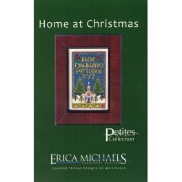 HOME AT CHRISTMAS (mit Seidengaze)