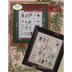 CHRISTMAS SAMPLER- Stickvorlage