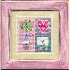 FLIP-IT BLOCKS WITH CHARM: FEBRUARY