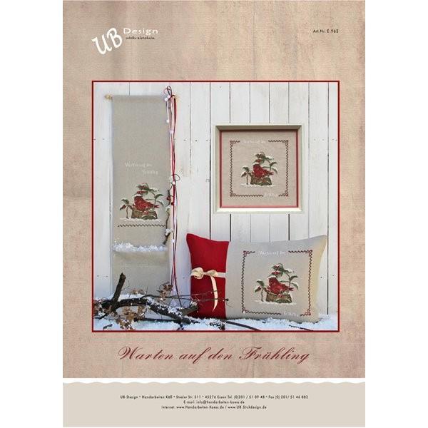warten auf den fr hling stickvorlage fadenkreuz. Black Bedroom Furniture Sets. Home Design Ideas