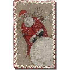 Père Noel sur la Lune