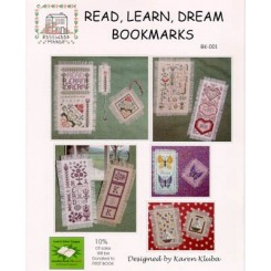 READ, LEARN, DREAM BOOKMARKS