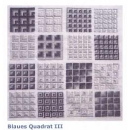BLAUES QUADRAT III