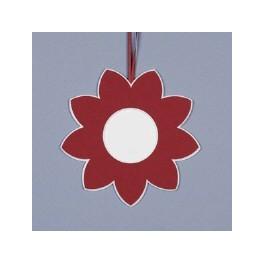 Deko-Blüte klein - rot