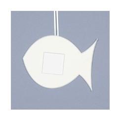 Deko-Fisch groß - weiß