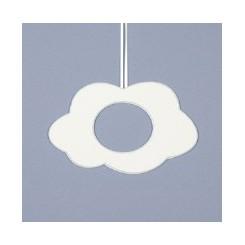 Deko-Wolke groß - weiß