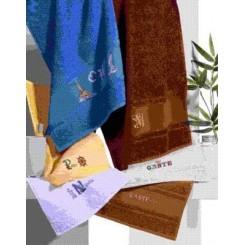 Handtuch weiß - 50 x 100 cm