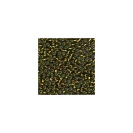 MH Glass Seed Beads 02048 -  golden olive
