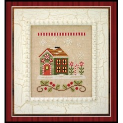 SANTA'S VILLAGE - CANDY CANE COTTAGE