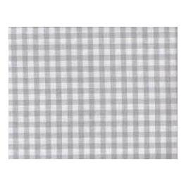 Zweigart Murano Carré grau-weiß kariert, 170 cm