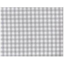 Zweigart Murano Carré grau-weiß kariert, 60 x 85 cm