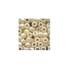 MH Glass Pebble Beads 05147 -oriental pearl