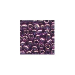 MH Glass Pebble Beads 05202 - amethyst
