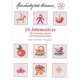 24 WEIHNACHTSMOTIVE