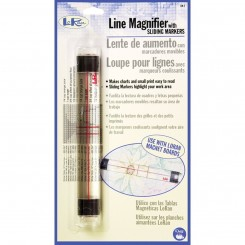 Lupenlineal, magnetisch