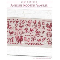 ANTIQUE ROOSTER SAMPLER
