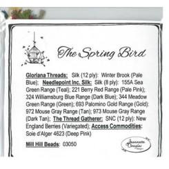 THE SPRING BIRD - Materialpaket