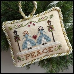 The Sampler Tree Ornament Series - PEACE